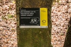 Bergischer Panoramasteig - Etappe 2 | Schlussstein der zweiten Etappe